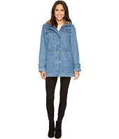KC Collections - Hooded Denim Coat