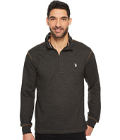 U.S. POLO ASSN. - Long Sleeve French Terry 1/4 Zip Pullover