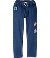 Kenzo Kids - Denim Emojis Pants (Big Kids)