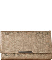 Jessica McClintock - Nora Metallic Snake Large Envelope Clutch