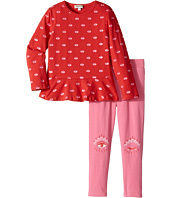 Kenzo Kids - Red and Pink Eye Ensemble (Toddler)