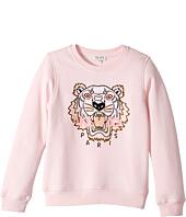 Kenzo Kids - Long Sleeves Tee Shirt (Big Kids)