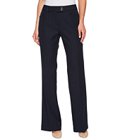 Tahari by ASL - Pinstripe Pants with Tab Waistband
