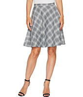 Tahari by ASL - Plaid Flip Skirt