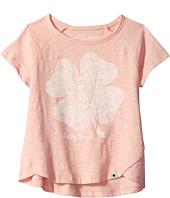 Lucky Brand Kids - Lucky Lace Slub Jersey Tee (Big Kids)