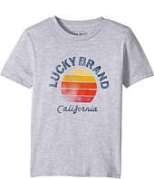 Lucky Brand Kids - California Short Sleeve Graphic Tee (Toddler)
