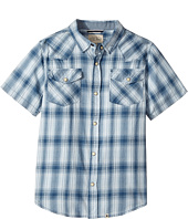 Lucky Brand Kids - Short Sleeve Western Plaid Shirt (Big Kids)