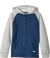 Lucky Brand Kids - Long Sleeve Raglan Pullover Hoodie (Big Kids)