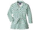 Geo Green Belted Shirtdress (Toddler/Little Kids/Big Kids)