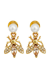 Oscar de la Renta - Bug Button C Earrings