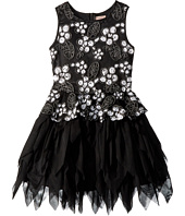 Nanette Lepore Kids - Novelty Soutache Fabric with Sequins and Tulle Dress (Little Kids/Big Kids)