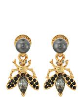 Oscar de la Renta - Bug Button C Earrings