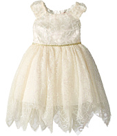 Nanette Lepore Kids - Novelty Shimmer Soutache Lace Dress (Infant)