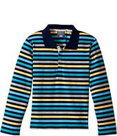 Toobydoo - The Oscar Long Sleeve Polo Shirt (Toddler/Little Kids/Big Kids)