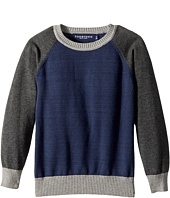 Toobydoo - Baseball Sweater (Toddler/Little Kids/Big Kids)