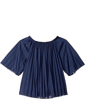 Polo Ralph Lauren Kids - Pleated Jersey Top (Little Kids)