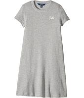 Polo Ralph Lauren Kids - French Terry Tee Dress (Little Kids/Big Kids)