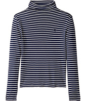 Polo Ralph Lauren Kids - Striped Turtleneck Shirt (Little Kids/Big Kids)