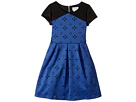 Cap Sleeve Cut Out with A Full Skirt (Big Kids)