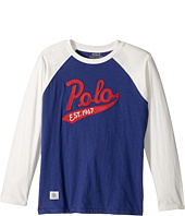 Polo Ralph Lauren Kids - Cotton Baseball T-Shirt (Big Kids)