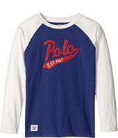 Polo Ralph Lauren Kids - Cotton Baseball T-Shirt (Little Kids/Big Kids)