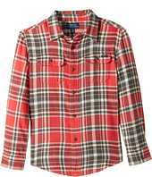 Polo Ralph Lauren Kids - Plaid Cotton Twill Workshirt (Little Kids/Big Kids)