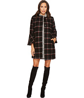 BB Dakota - Hewes Plaid Coat with Bell Sleeves