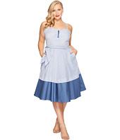 Unique Vintage - Plus Size Lonestar Swing Dress