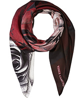 Vince Camuto - Dipped Roses Square Scarf