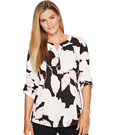 Ivanka Trump - Printed Woven Pullover Blouse
