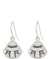 The Sak - Etched Fan Drop Earrings
