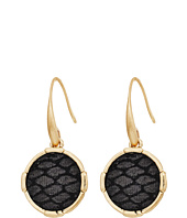 The Sak - Inlay Circle Drop Earrings