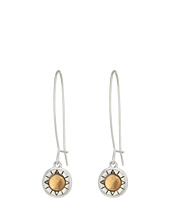 The Sak - Elongated Metal Drop Earrings