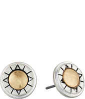 The Sak - Metal Inlay Stud Earrings
