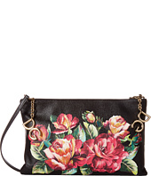 Dolce & Gabbana - Large Leather Pouch w/ Removable Strap
