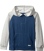 Lucky Brand Kids - Long Sleeve Raglan Pullover Hoodie (Little Kids/Big Kids)