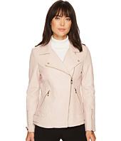 Ivanka Trump - Leather Moto Jacket