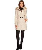 Ivanka Trump - Boucle Toggle Wool w/ Faux Fur