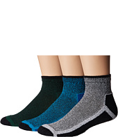 HUE - Sport Quarter Top Socks 3-Pair Pack
