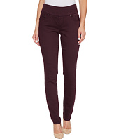 Jag Jeans - Nora Pull-On Skinny in Color Knit Denim in Plum Noir