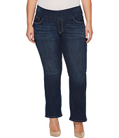 Jag Jeans Plus Size - Plus Size Petite Paley Pull-On Boot in Surrel Denim in Meteor Wash
