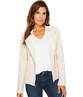 Calvin Klein - Faux Suede Moto Jacket