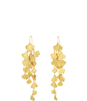 Tory Burch - Ginkgo Leaf Linear Earrings