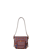 Tory Burch - Sawyer Houndstooth Mini Shoulder Bag