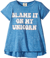 People's Project LA Kids - Blame Unicorn Knit Tee (Big Kids)