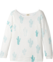 People's Project LA Kids - Cactus Slouchy Knit Top (Big Kids)