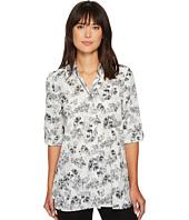 Ellen Tracy - Roll Tab Boyfriend Shirt