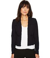 Ellen Tracy - Fringe Trimmed Jacket