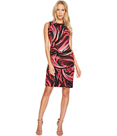 Taylor - All Over Swirl Print Sheath