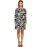 Boutique Moschino - Long Sleeve Floral Dress